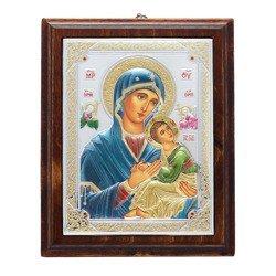 Ikona srebrna Matka Boska Nieustającej Pomocy 31187LCDA