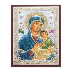Ikona srebrna Matka Boska Nieustającej Pomocy 31187WDA
