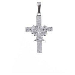Krzyżyk srebrny z orłem  MO075
