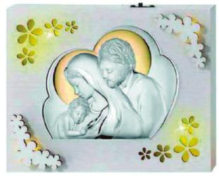 Lampka srebrna - Święta Rodzina