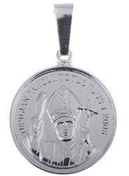 M99 Medalik srebrny - Święty Jan Paweł II