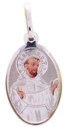 Medalik srebrny (1,6 g) - Święty Franciszek MK011