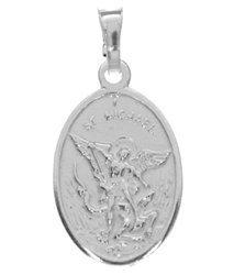 Medalik srebrny - Anioł Michał Archanioł MM017