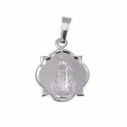 Medalik srebrny - Matki Bożej Niepokalanej Cudowny Medalik MM005