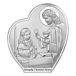 Obrazek Srebrny Pamiątka I Komunii 6593BA