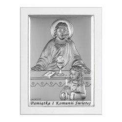 Obrazek Srebrny Pamiątka I Komunii 6595SWA