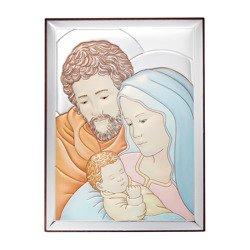 Obrazek Srebrny Święta Rodzina 31131CERA