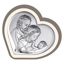 Obrazek Srebrny Święta Rodzina 6514CC