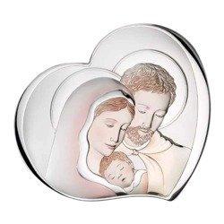 Obrazek Srebrny Święta Rodzina 81252COL