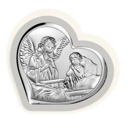 Obrazek srebrny Anioł Stróż 6512PG