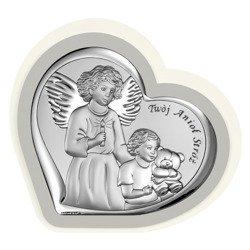 Obrazek srebrny Anioł Stróż 6526PG