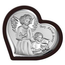Obrazek srebrny Anioł Stróż 6526WM