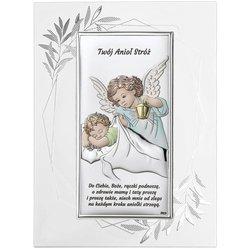 Obrazek srebrny Aniołek Twój Anioł Stróż DS02FOC