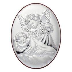 Obrazek srebrny Aniołek z latarenką 31001