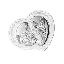 Obrazek srebrny Aniołek z latarenką 81298