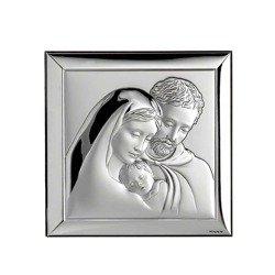 Obrazek srebrny Święta Rodzina 739
