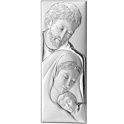 Obrazek srebrny Święta Rodzina 749