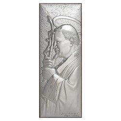 Obrazek srebrny Święty Jan Paweł 2 papież 304812A
