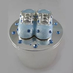 Puzderko dla dziecka, niebieskie, buciki 473-3256