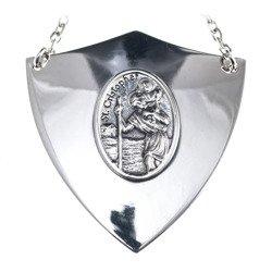 Ryngraf srebrny 925 Święty Krzysztof R35