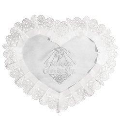 Szatka do Chrztu Świętego ze srebrnymi zdobieniami SSS02