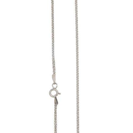 Łańcuszek srebrny pr. 925 lisi ogon (spiga)  SPIGA040DIA4L ROD