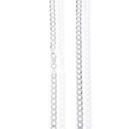 Łańcuszek srebrny pr. 925 pancerka 5,2 mm 1,15 mm GZP115 6L