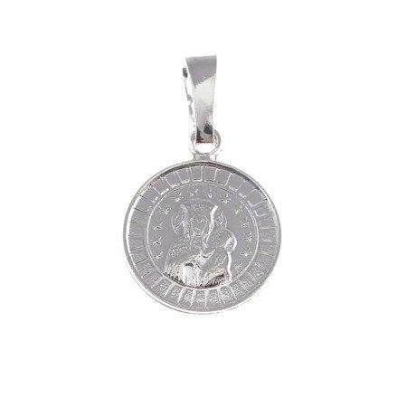 M45 Medalik srebrny - Matka Boska Częstochowska