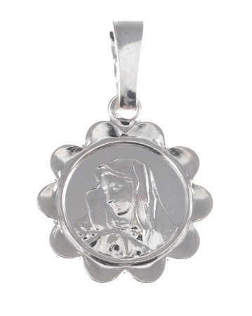 M58 Medalik srebrny - Matka Boska Bolesna