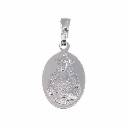 Medalik srebrny - Matki Bożej Szkaplerznej Szkaplerz M022