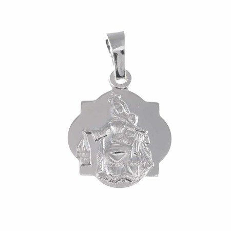 Medalik srebrny - Matki Bożej Szkaplerznej Szkaplerz M024