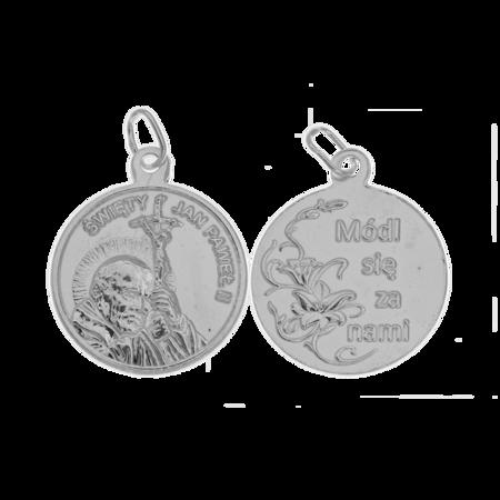 Medalik srebrny - Święty Jan Paweł II ML015