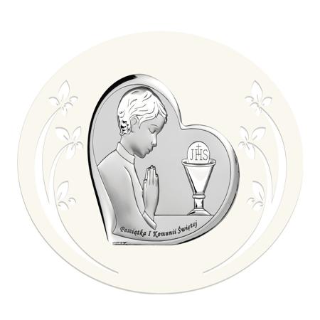 Obrazek Srebrny Pamiątka I Komunii 6518PO