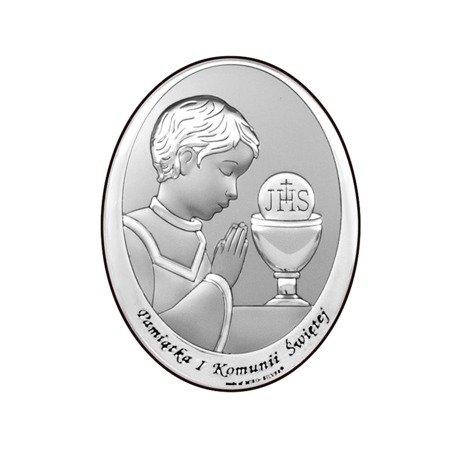 Obrazek Srebrny Pamiątka I Komunii 6571O