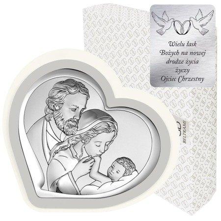 Obrazek Srebrny Święta Rodzina 6514PG