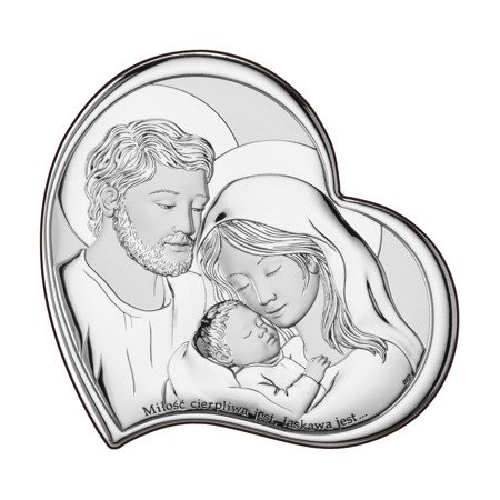 Obrazek Srebrny Święta Rodzina Dono DS10