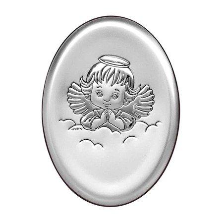 Obrazek srebrny Aniołek 6383