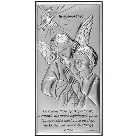 Obrazek srebrny Aniołki 6673S