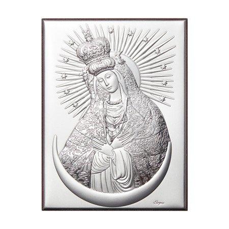 Obrazek srebrny Matka Boska Ostrobramska 306216A