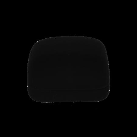 Pudełko flokowe czarne  PUD-1 CZ
