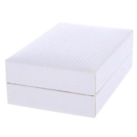 Pudełko skórzane białe PDH-3/A1