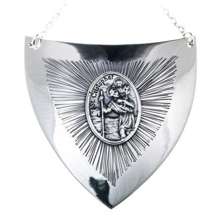 Ryngraf srebrny 925 Święty Krzysztof R33