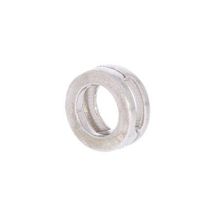 Srebrna przywieszka pr 925 Charms płaski kółko PANP012