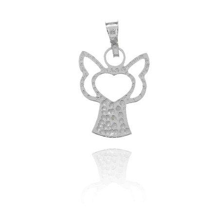Srebrna zawieszka aniołek MM148