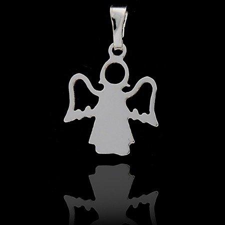 Srebrna zawieszka aniołek MM152