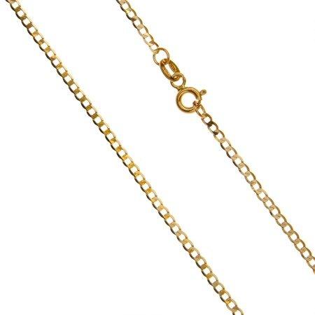 Złoty Łańcuszek w pudełku ozdobnym z grawerem pr. 585 Pancerka 035 ZL024/BA-3