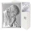 Obrazek srebrny Jezus modlący się 6522