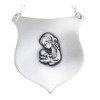 Ryngraf srebrny 925 Matka Boska z Dzieciątkiem R28